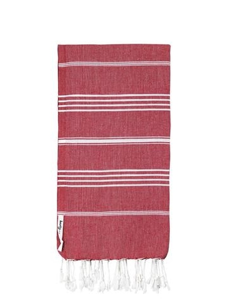 Turkish Towel Cherry Red