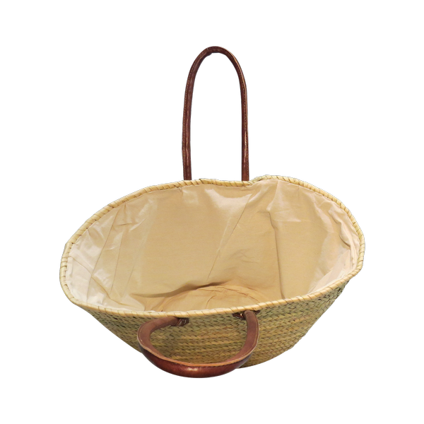 Cream Lined (Medium Basket)