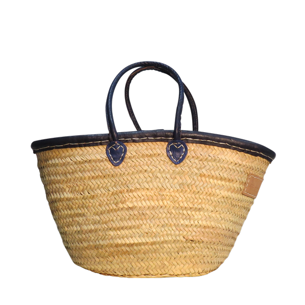 Laura Navy (Medium Basket)