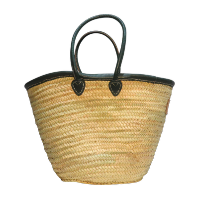 Laura Khaki (Medium Basket)