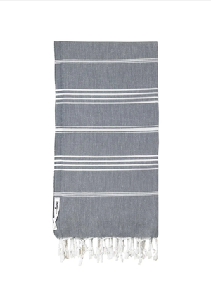 Turkish Towel Charcoal
