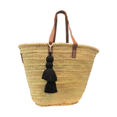 Tassel Basket - Black
